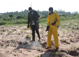 Weed management service to farmers using modern agricultural technology