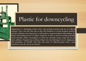 Plastic for downcycling