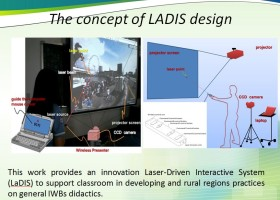 Utilizing a Low-Cost, Laser-Driven Interactive System (LaDIS) to Improve Learning in Rural regions