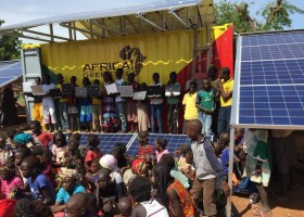 Solarcontainer for Mourdiah, Mali