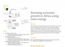 Boosting economic growth in Africa with solar energy