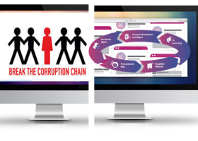 Anti-Corruption Software:All Government Purchases will be traceable and auditable. More transparency