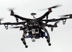 Drone for Oil and Mining fields using IoT Technology.