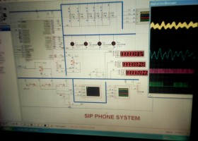 improving internal communication in institutions using a low cost telephone system SIP ( Serial Ip P