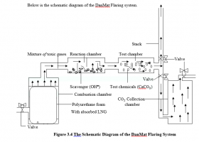 The DanMat Gas Flaring Model.