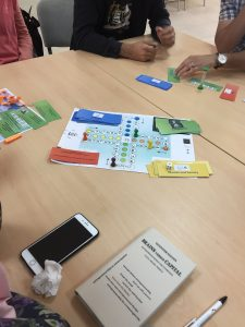 'BRAINS versus CAPITAL' Game, played at German Jordanian University