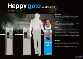 Happy gate
