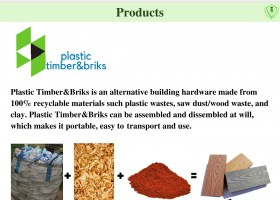 Plastic Timber and Bricks