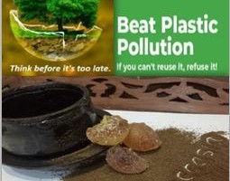 TEACCASIA- A SOLUTION FOR PLASTIC POLLUTION