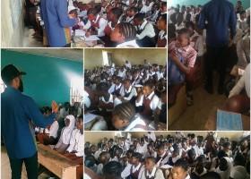 Drug abuse awareness program in Nigerian Schools.