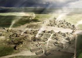 A stone age  resort