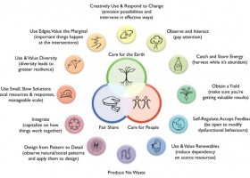 Healthy production and consumption of food through permaculture