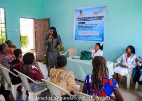 Safety Health and Empowerment(S.H.E) project for under-served women in Nigeria