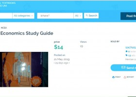 Bizaar: an eco-friendly second-hand textbook marketplace by and for destitute students