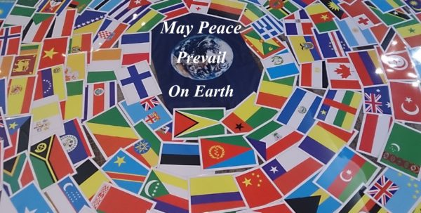 World Peace Dedication Ceremony