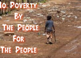 No poverty : By the people for the people
