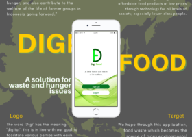 DigiFood: Application of Food Loss and Food Waste Based to Create Zero Hunger and Zero Waste World