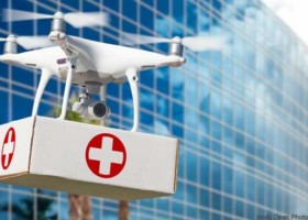 ZeroDrones: Delivery Drone Service to deliver medical supplies and food to health care workers and v