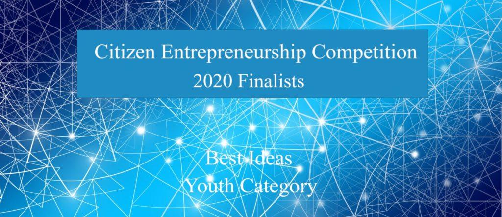 Citizen Entrepreneurship Competition Finalists