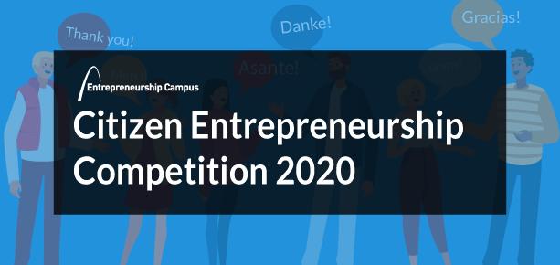 Citizen Entrepreneurship Competition 2020 winners