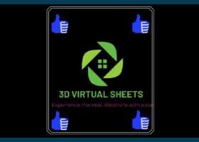 3d Wall Virtual Sheet